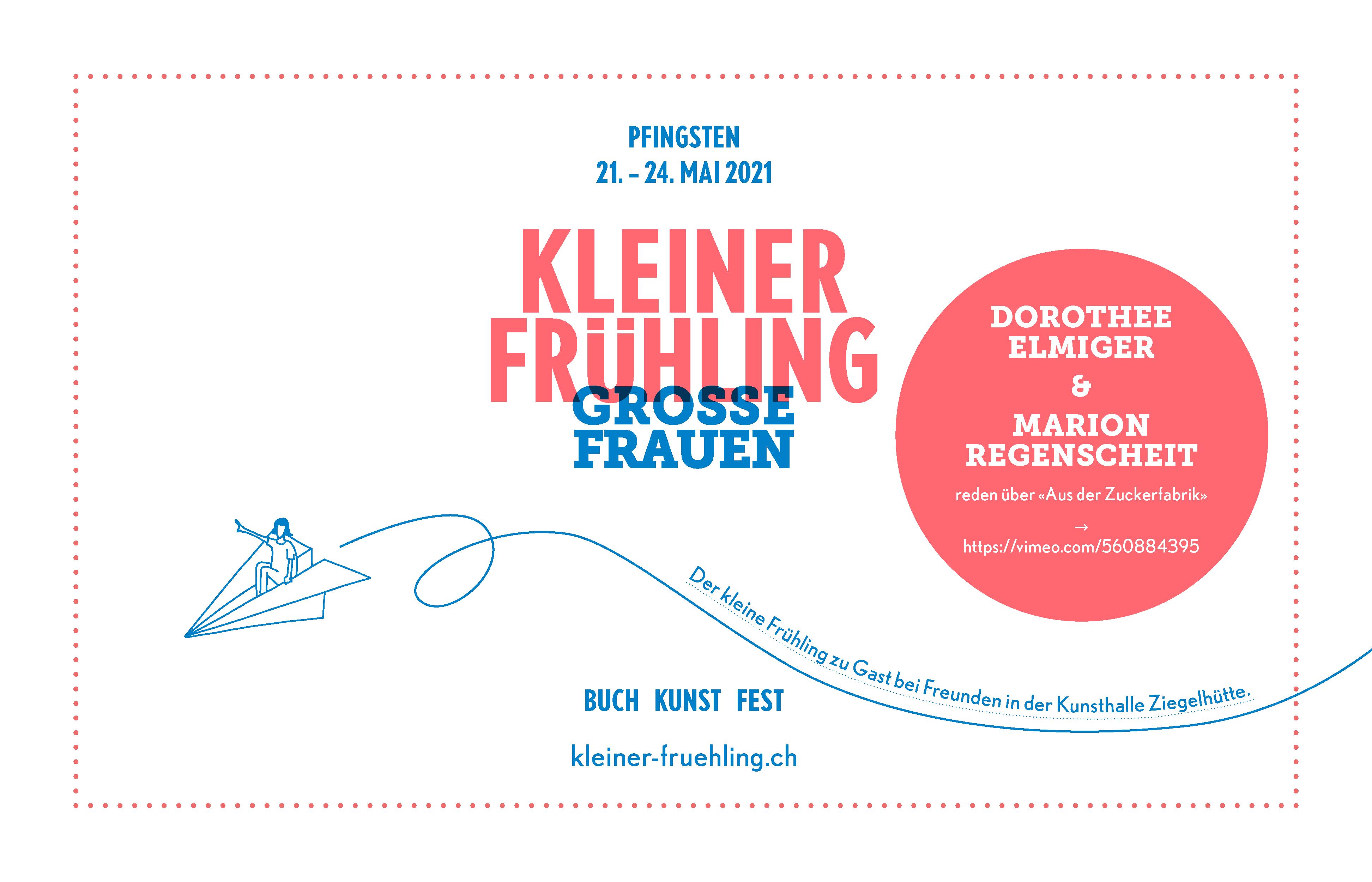 Save the Date – Kleiner Frühling 2021 in Appenzell